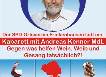 Kabarett mit Andreas Kenner MdL